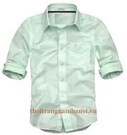 Ảnh số 42: áo somi kẻ sọc hàn quốc - Giá: 190.000