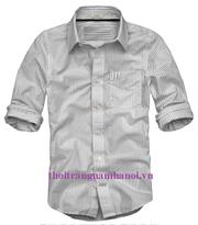 Ảnh số 41: áo somi kẻ sọc hàn quốc - Giá: 190.000