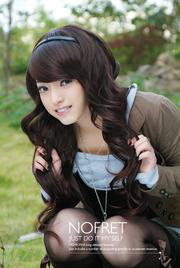 Ảnh số 49: tóc giả Hàn quốc xoăn - Giá: 800.000