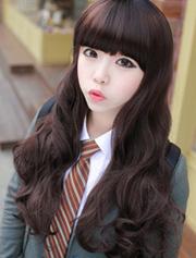 Ảnh số 59: tóc giả Hàn quốc xoăn nhẹ - Giá: 800.000