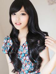 Ảnh số 60: tóc giả Hàn quốc xoăn nhẹ - Giá: 800.000