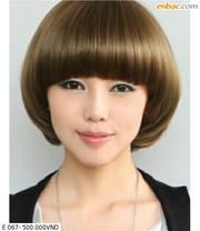 Ảnh số 68: tóc giả Hàn quốc tóc ngắn - Giá: 650.000
