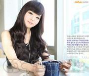 Ảnh số 79: tóc giả Hàn quốc xoăn nhẹ - Giá: 800.000