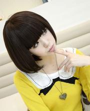 Ảnh số 80: tóc giả Hàn quốc tóc ngắn - Giá: 600.000