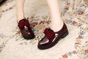 Ảnh số 9: Giày búp bê công chúa cực xinh cực rẻ  màu đen - MWC shop( - Giá: 319.000