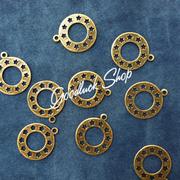 Ảnh số 2: Mặt tròn đồng 1.2 x 1.2cm - Giá: 4.000
