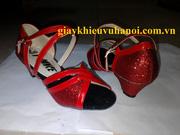 Ảnh số 16: Giày khiêu vũ màu đỏ trẻ em - Giá: 300.000