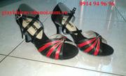 Ảnh số 42: Giày khiêu vũ đen pha đỏ - Giá: 300.000