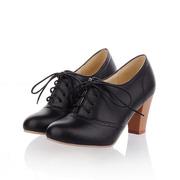 Ảnh số 4: Giày boot cổ ngắn gót gỗ trắng cực xinh - MWC shop - Giá: 429.000