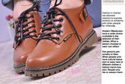 Ảnh số 18: Giày Boot dr marten cổ ngắn giành cho các bạn nữ - MWC shop - Giá: 319.000