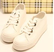Ảnh số 20: Giày thể thao cổ ngắn 2 màu trắng đen cực style giá rẻ - MWC shop - Giá: 349.000
