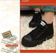 Ảnh số 30: Giày thể thao cổ ngắn 2 màu trắng đen cực style giá rẻ - MWC shop - Giá: 349.000