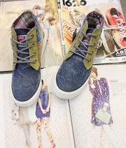 Ảnh số 31: Giày bata jeans nữ cực chất, jeans bụi bặm cá tính, xu hướng mùa hè 2013 - MWC shop - Giá: 349.000