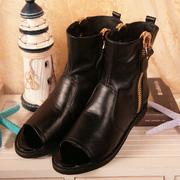 Ảnh số 41: Giày anke boot gót thấp, giá cực rẻ đi cực êm - MWC shop - Giá: 349.000