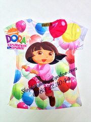 nh s 69: o thun lnh in 3D Princess - Gi: 10.000