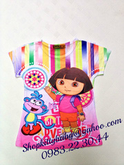 nh s 70: o thun lnh in 3D Dora ( bn) - Gi: 140.000
