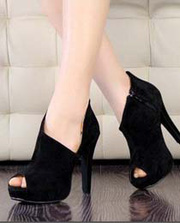 Ảnh số 35: Giày hở mũi cao gót kiểu dáng sành điệu - Giá: 270.000