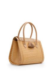 Ảnh số 10: Túi xách Mango Womens Croc Effect Tote Bag, Yellow, 99 - Giá: 2.890.000