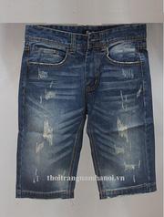 Ảnh số 47: quần jean ngố đầy đủ các mẫu trơn, mài, xước - Giá: 250.000