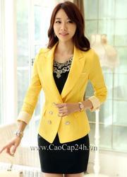 Ảnh số 34: Áo Vest Nữ Hàn Quốc SA13JK04 - Giá: 2.170.000