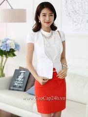 Ảnh số 7: Áo Vest nữ Hàn Quốc 21801 - Giá: 1.870.000