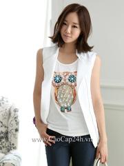 Ảnh số 4: Áo Vest nữ Hàn Quốc 21900 - Giá: 1.780.000