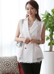 Ảnh số 2: Áo Vest nữ Hàn Quốc 21980 - Giá: 1.520.000