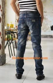 Ảnh số 3: quần bò ( jean) nam ống côn - Giá: 290.000