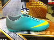 Ảnh số 23: Giày đá bóng nike mercurial - Giá: 250.000