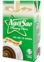 Sữa đặc Ngôi Sao Phương Nam hộp giấy 1284g  1L