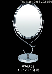 Gương soi để bàn, gương soi 2 mặt phóng to, gương soi đèn LED