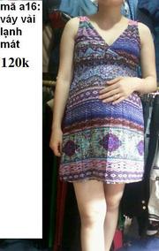 Ảnh số 12: váy bầu - Giá: 120