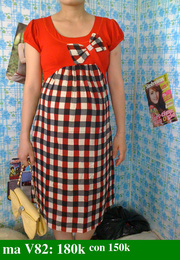 Ảnh số 71: váy bầu - Giá: 150