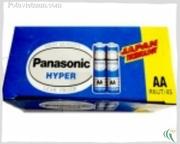 Ảnh số 27: Pin tiểu AA, Pin thông dụng, Pin Carbonzinc, Pin Panasonic general purpose R6UT/4S (UM3) - Xanh (1 Gói/ 4 Viên pin) - Giá: 10.000