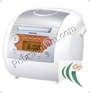 Ảnh số 28: Nồi cơm điện cao cấp, rẻ nhất - nồi cơm điện điều khiển điện tử, TOSHIBA RC-10 - Giá: 1.899.000