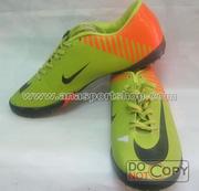 Ảnh số 2: Giày đá bóng sân cỏ nhân tạo NIKE MERCURIAL cam chuối - Giá: 350.000