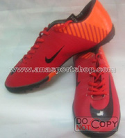 nh s 4: Giy  bng sn c nhn to NIKE MERCURIAL cam  - Gi: 350.000