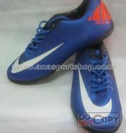 Ảnh số 7: Giày đá bóng sân cỏ nhân tạo NIKE MERCURIAL cam xanh - Giá: 350.000