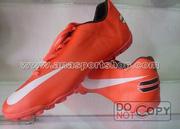 Ảnh số 8: Giày đá bóng sân cỏ nhân tạo NIKE cam - Giá: 200.000