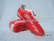 Ảnh số 16: Giày đá bóng sân cỏ nhân tạo CODAD đỏ - Giá: 300.000