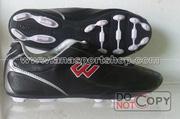 Ảnh số 25: Giày đá bóng sân cỏ nhân tạo PROWIN đen (đinh thưa) - Giá: 180.000
