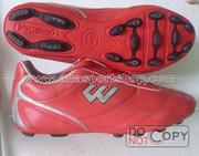 Ảnh số 26: Giày đá bóng sân cỏ nhân tạo PROWIN đỏ (đinh thưa) - Giá: 180.000