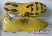 Ảnh số 28: Giày đá bóng sân cỏ nhân tạo PROWIN vàng (đinh thưa) - Giá: 180.000