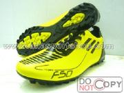 Ảnh số 40: Giày đá bóng sân cỏ nhân tạo PES F50 vàng - Giá: 250.000