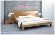 Ảnh số 17: giường gỗ - Giá: 8.500.000