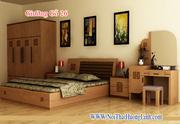 Ảnh số 25: giường gỗ - Giá: 8.500.000