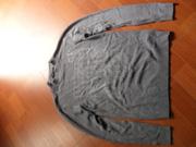 Ảnh số 11: Áo len CK cổ 3 phân màu ghi - Giá: 150.000