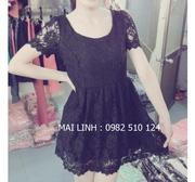 Ảnh số 10: váy ren tiểu thư - Giá: 240.000