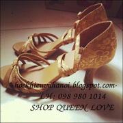 Ảnh số 51: GIẦY KHIÊU VŨ QUEEN LOVE - 098 980 1014 - Giá: 400.000