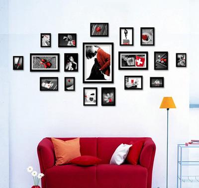 Mẫu 9  bộ khung ảnh treo tường xinh xắn cho ngôi nhà iu quý, văn phòng làm việc, quà tặng độc đáo